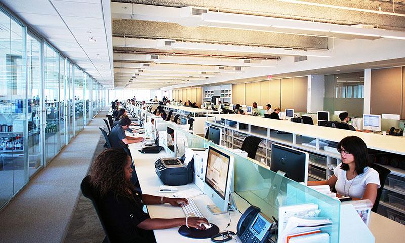 Как правильно оборудовать офис Open Space