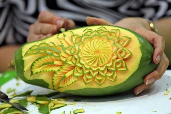Бизнес на карвинге овощей и фруктов