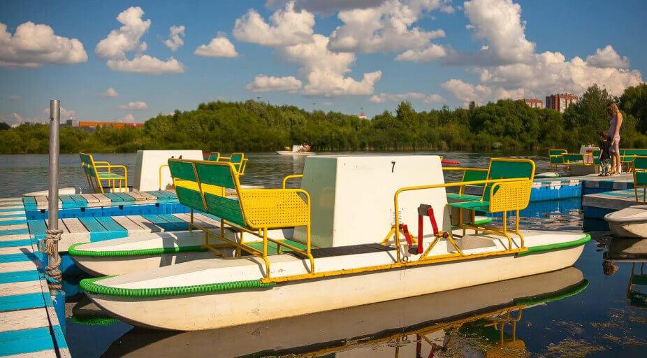 Оборудование для проката лодок