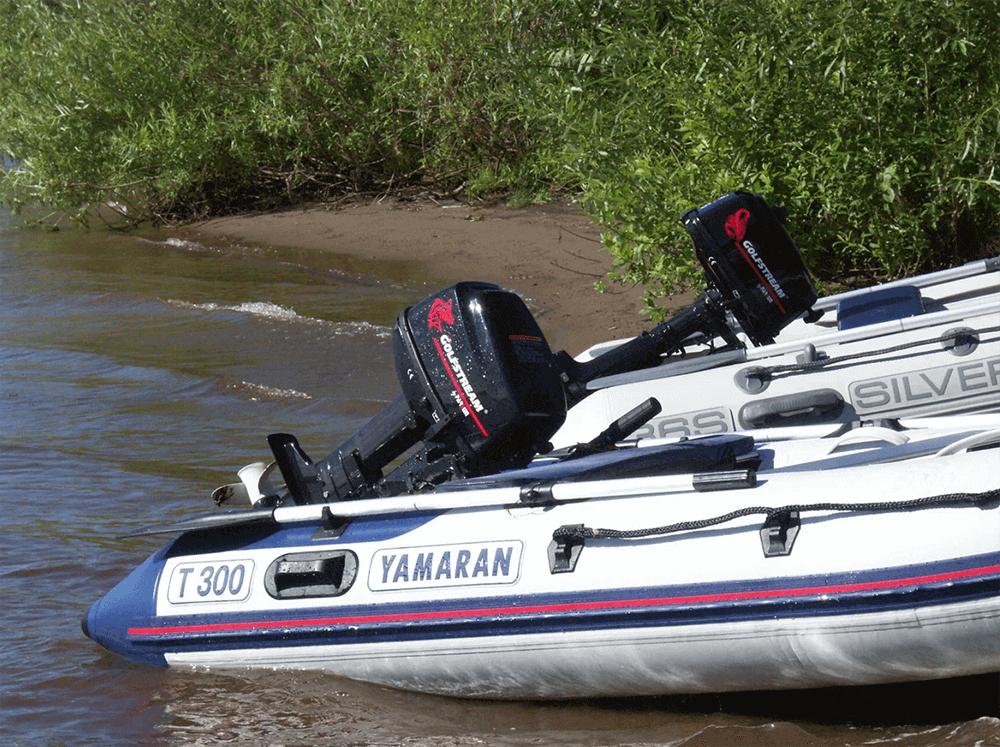 Прокат моторных лодок