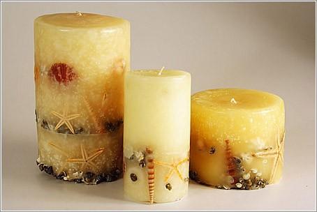 30 Изготовление свечей
