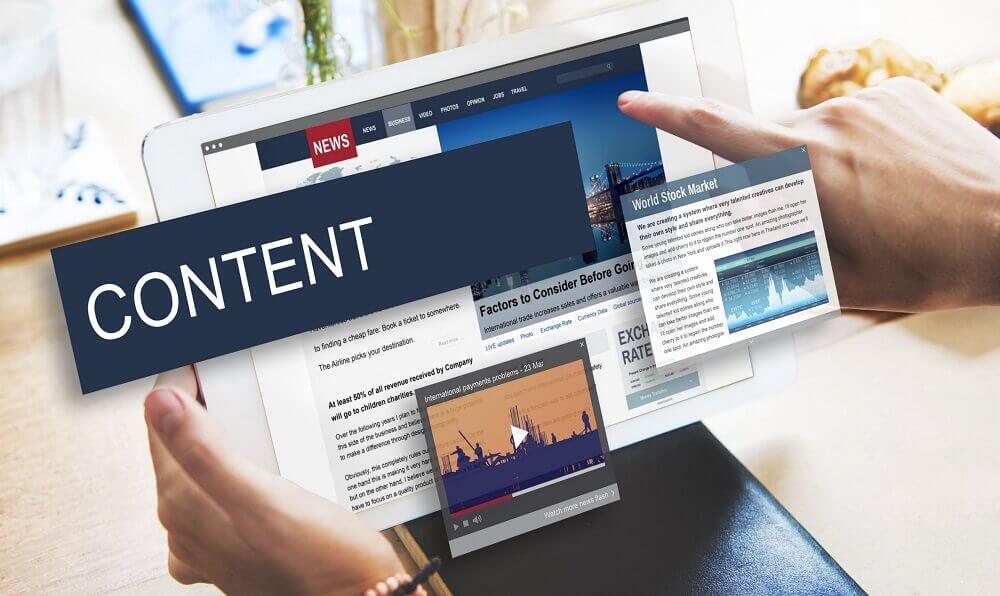 Другие виды контента на сайте