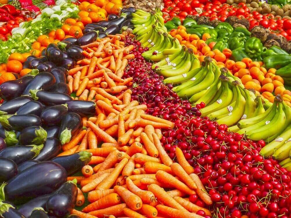 Ассортимент овощного магазина