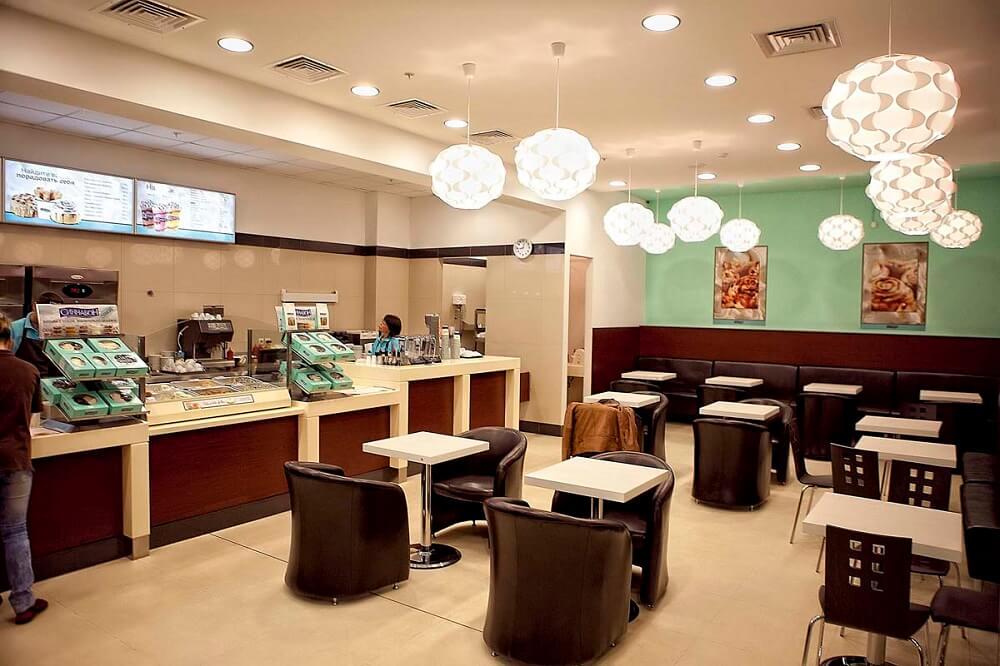 Помещения для кафе Синнабон