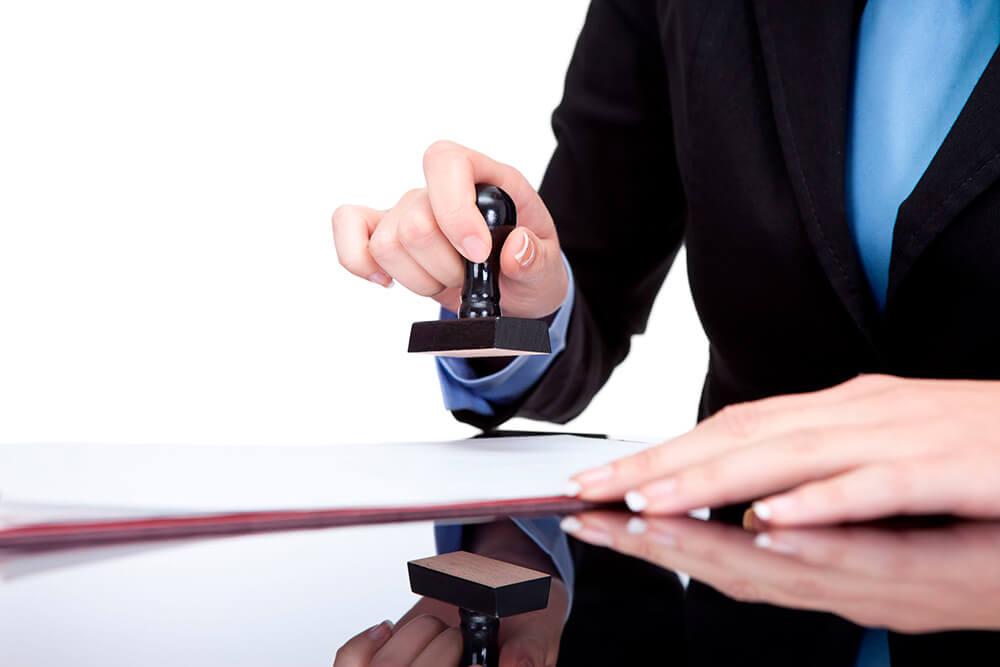 Регистрация и оформление документов