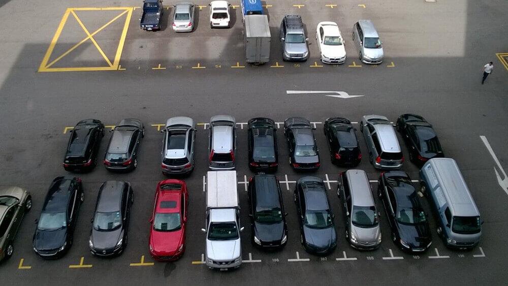 Автостоянка открытого типа